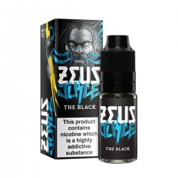 Zeus Juice The Black 10ml (Black Astaire) 50/50 and High VG