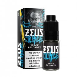 Zeus Juice Black Reloaded 10ml 50/50 and High VG