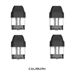 Uwell - Caliburn Replacement Pods - Pack of 4 - 1.4 Ohm