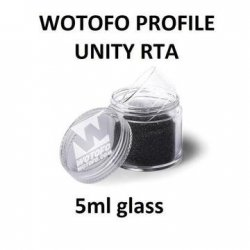 Wotofo - Profile Unity 5ml Glass Replacement