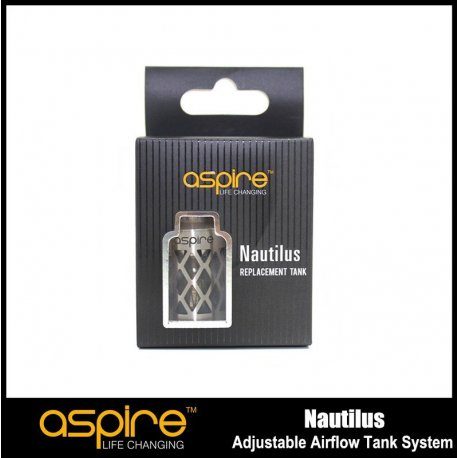 Aspire Nautilus Stainless hollowed out sleeve