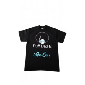 Puff Dad E, T shirt Black & Blue