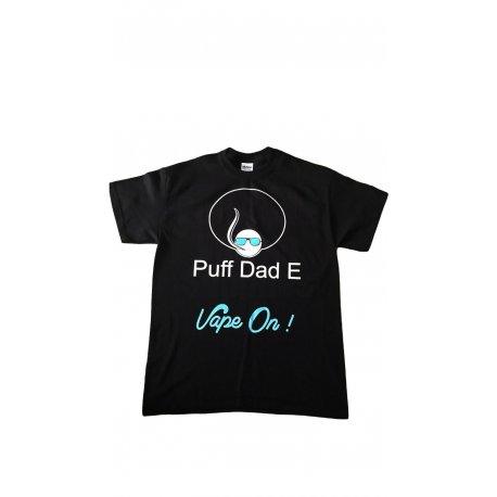 Puff Dad E, T shirt Black & Blue