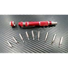 Multi purpose 9 in 1 screwdriver